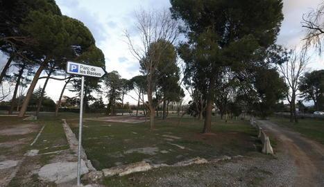 El parc de les Basses està en desús des de l'any 2003.