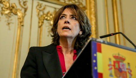 L'exministra de Justícia, Dolores Delgado.