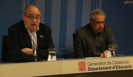 El conseller Bargalló va presentar ahir la convocatòria.