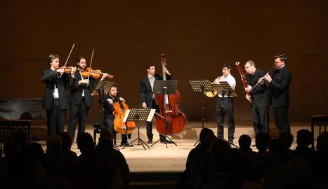 Cervera va obrir diumenge l'any musical a l'Auditori Municipal amb la formació Kaimerata.