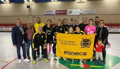 El Grup Esneca entrega 150 tovalloles personalitzades al Vila-sana
