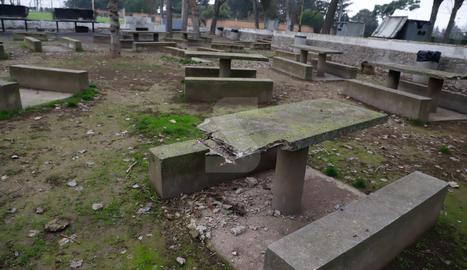 Un parc en declivi constant des del tancament l'any 2003