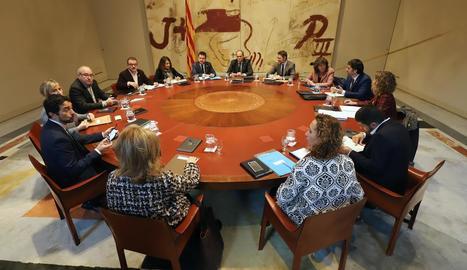 El gabinet jurídic de la Generalitat avala que Torra pot seguir sent president fins i tot perdent l'escó