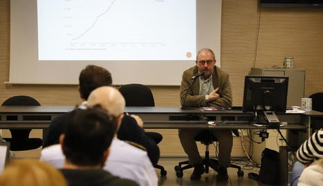 El catedràtic Carles Feixa va participar en la jornada.
