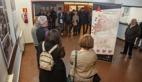 La mostra pot visitar-se al Casal Cívic de la capital de l'Urgell fins al 16 de febrer.