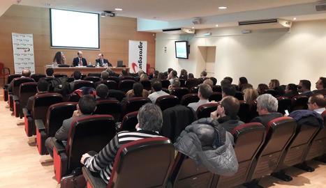 Jornada organitzada dimarts a Lleida per Agroseguro.