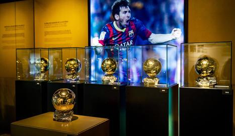 La sisena Pilota d'Or de Messi ja llu al Museu del Camp Nou.