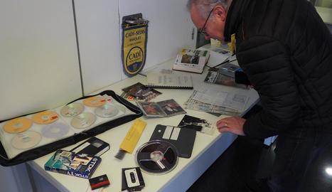 Una mostra del material que recollirà el Sedis per commemorar el 50 aniversari.