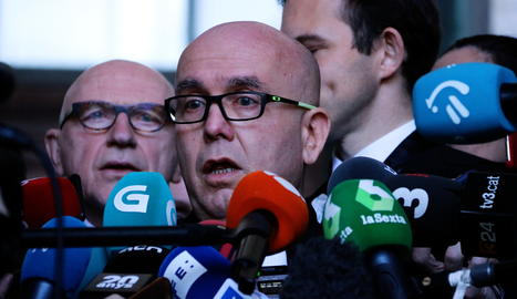 L'advocat de Carles Puigdemont i Quim Torra, Gonzalo Boye.