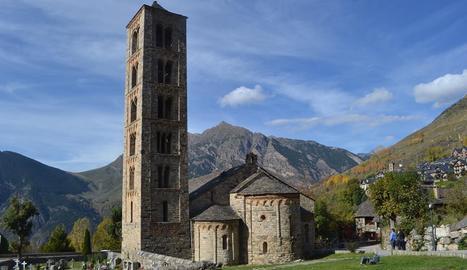 L'església de Sant Climent de Taüll.