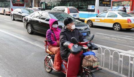 La contaminació de l'aire és un problema d'àmbit mundial.