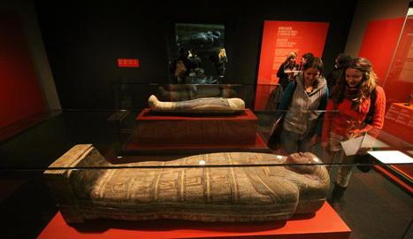 L'exposició sobre les mòmies egípcies, entre el 2012 i el 2013, la de més èxit de públic en trenta anys.