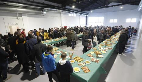 Inauguració de la remodelació de l'antiga cooperativa en local social.
