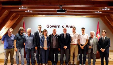 Un consultor del COI va visitar Aran el setembre del 2018.
