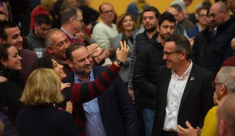 Ábalos va clausurar el comitè regional dels socialistes murcians.