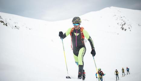 Més de 200 esquiadors van participar en l'última cita de la Copa d'Espanya de muntanya.