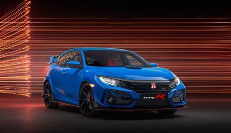 """L'actualització del Type R de producció arriba després que el Civic Type R TCR hagi estat reconegut com a """"Cotxe de l'Any TCR"""" el 2019."""