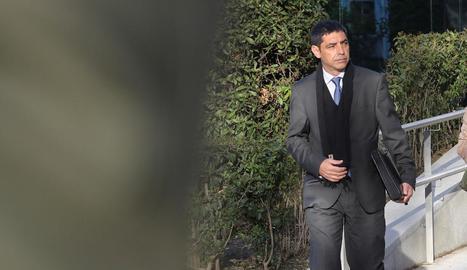 L'excap dels Mossos d'Esquadra Josep Lluís Trapero.