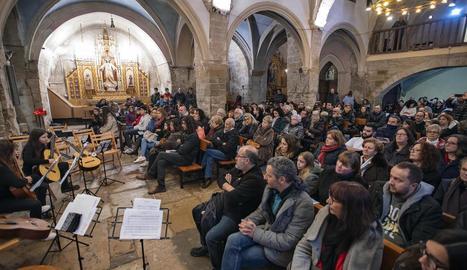 L'església de Santa Maria de Vilagrassa va acollir el primer concert d'aquest cicle musical.