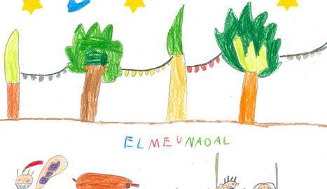 Aquest és el dibuix amb què el Blai es va proclamar guanyador del concurs.
