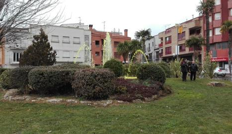 L'agressió es va produir als voltants de la plaça del Terrall.