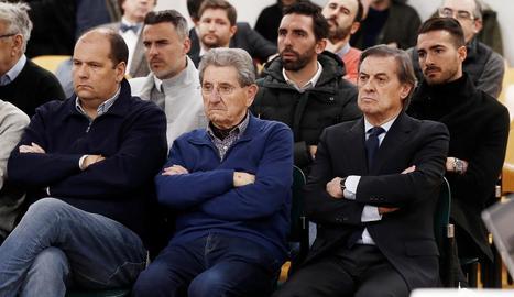 El lleidatà Jordi Figueras, al centre de la segona fila.
