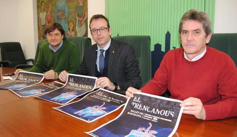 Àlex Culleré, Marc Solsona i Joan Ramon Domingo.