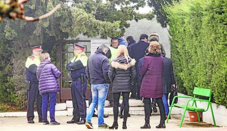 Reconstrucció dels fets a les Borges el desembre del 2018.