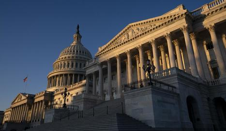 Imatge de la façana del Capitoli, a Washington.
