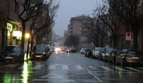 Els fets van tenir lloc dimarts a la tarda al carrer Pere Cavassèquia, a Pardinyes.