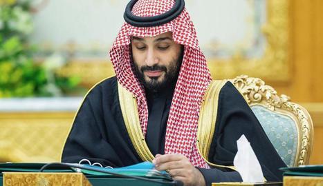 Arxiu del príncep hereu saudita Mohamed bin Salman.