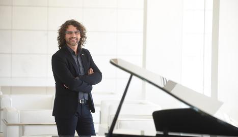 El pianista lleidatà Antoni Tolmos interpretarà el 22 de març els temes del seu àlbum 'Energy'.