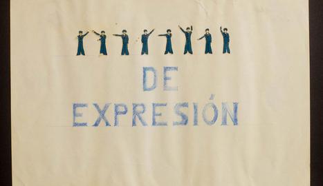carta. En moltes de les seues obres més enigmàtiques juga amb les paraules i el llenguatge, com en aquesta 'carta' elaborada amb barres.