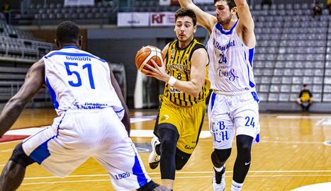 Duch va ser el jugador més destacat en l'atac del Pardinyes.