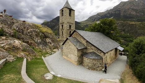 L'església romànica de Sant Joan de Boí.