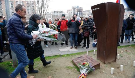 Día Internacional en Memoria de les Víctimas del Holocausto en Lleida