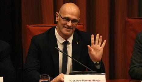 """Romeva qualifica el 155 """"d'error i senyal de covardia"""" i de """"fracàs"""" perquè """"no va atemorir"""" l'independentisme"""