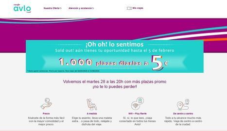 Es col·lapsa el web de l'AVLO el primer dia de venda de bitllets