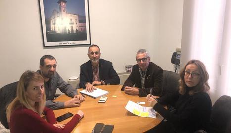 Reunió del consell amb l'empresa Nova Eucària.