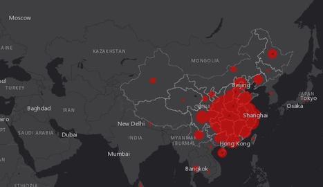 Un mapa per seguir l'expansió del coronavirus en tot el món