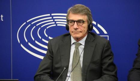 El president del Parlament Europeu,