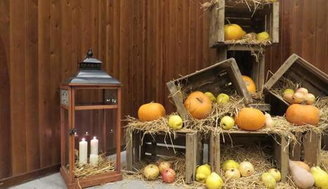 A la Tere Siurana li encanta celebrar berenars temàtics i ocupar-se ella de la decoració.