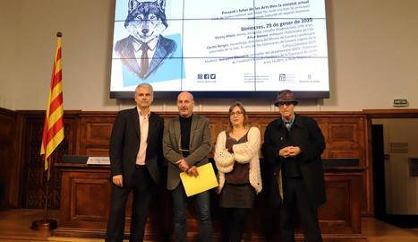 El present i futur de les arts a la societat actual, a debat a l'IEI