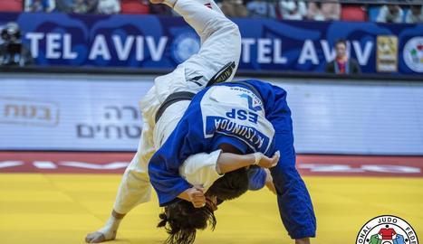 Ai Tsunoda, en un combat al Grand Prix de Tel-Aviv.