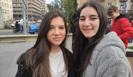 Alumnes del col·legi Espiga es van reunir a favor de la tolerància.