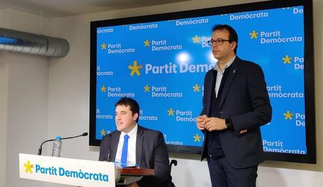 Imatge de David Bonvehí i Marc Solsona.