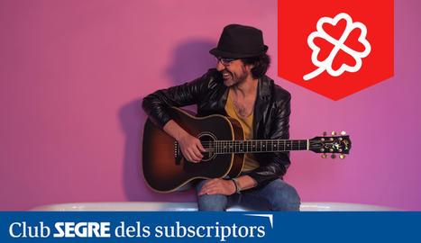 El cantautor català Dani Flaco presenta nou treball titulat 'Al Alimón'.
