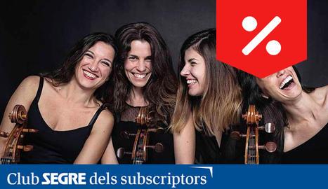 Les Mademoicelli és un quartet de violoncels amb una trajectòria consolidada dins l'àmbit de la interpretació i la pedagogia, format el 2015 per quatre dones.