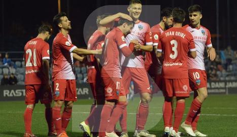 El Lleida suma un punt en el camp de l'Espanyol B (2-2)