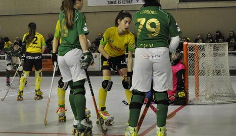 Les jugadores del Vila-sana van dominar clarament el partit.